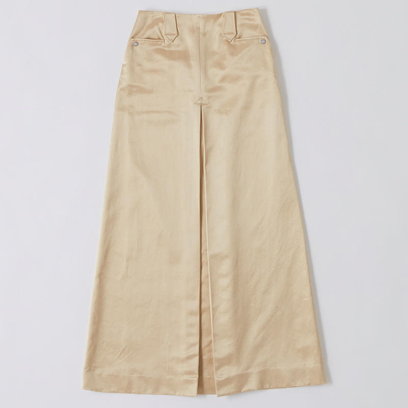 SATIN WESTERN SKIRT【WOMENS】