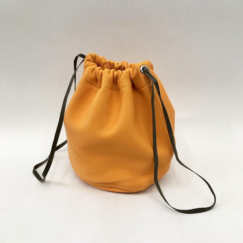 MILITARY LEATHER PURSE(CAMEL)