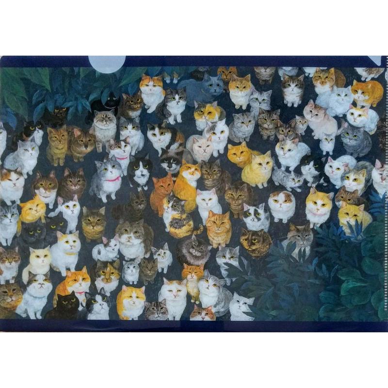 町田尚子『ネコヅメのよる』クリアファイル