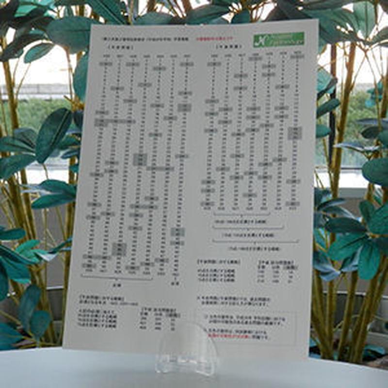 伝送交換【専門データ通信】過去問題の出題範囲分析シート