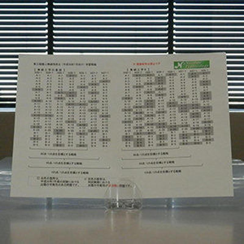 一陸技【基礎・無線工学B】過去問題の出題範囲分析シート