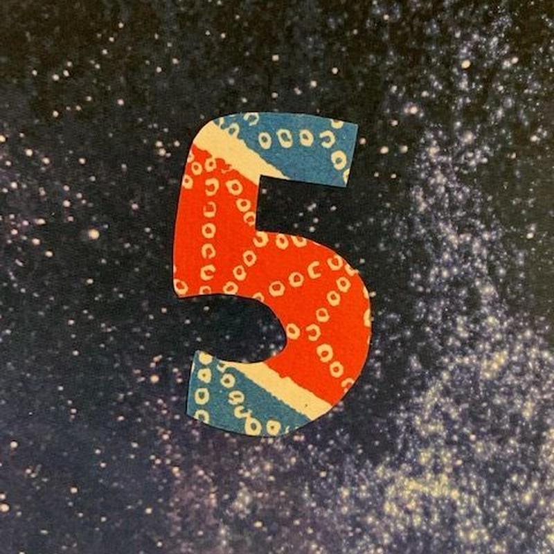 星空ひとねむりカード  5セット