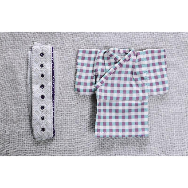 【for  Doll】浴衣キット 〜ギンガムチェック〜
