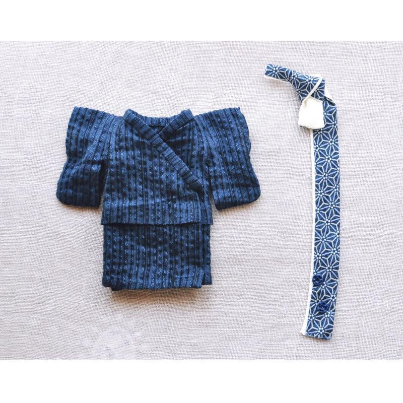【for  Doll】浴衣男子キット〜しじら織り〜