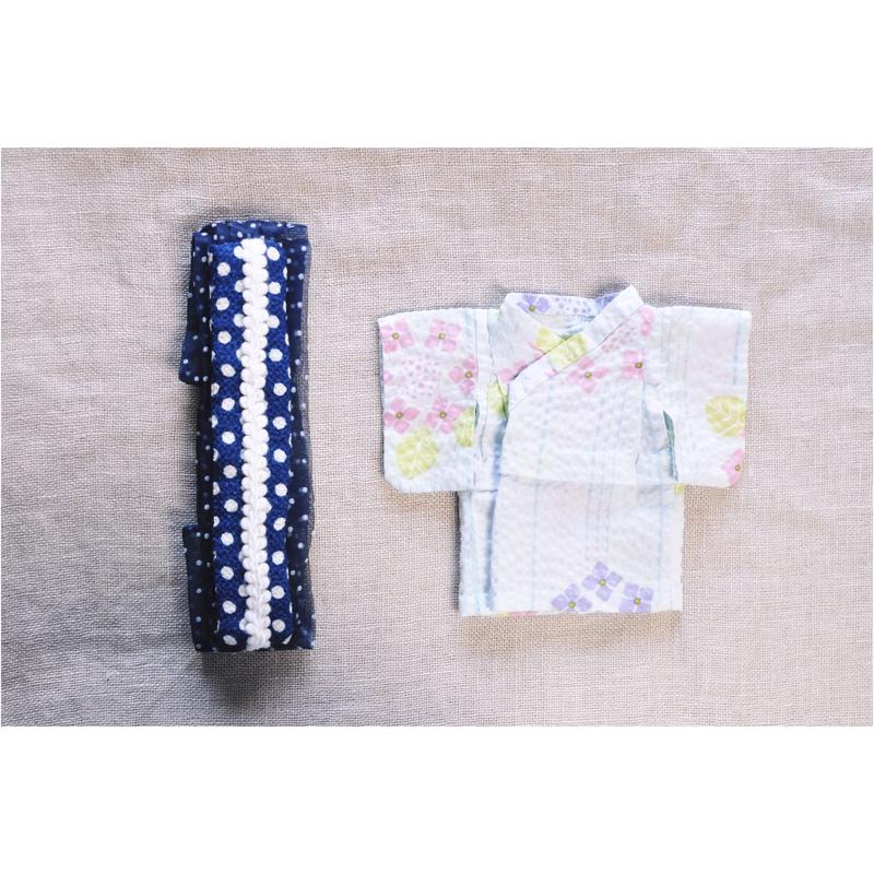 【for Doll】浴衣キット 〜紫陽花〜