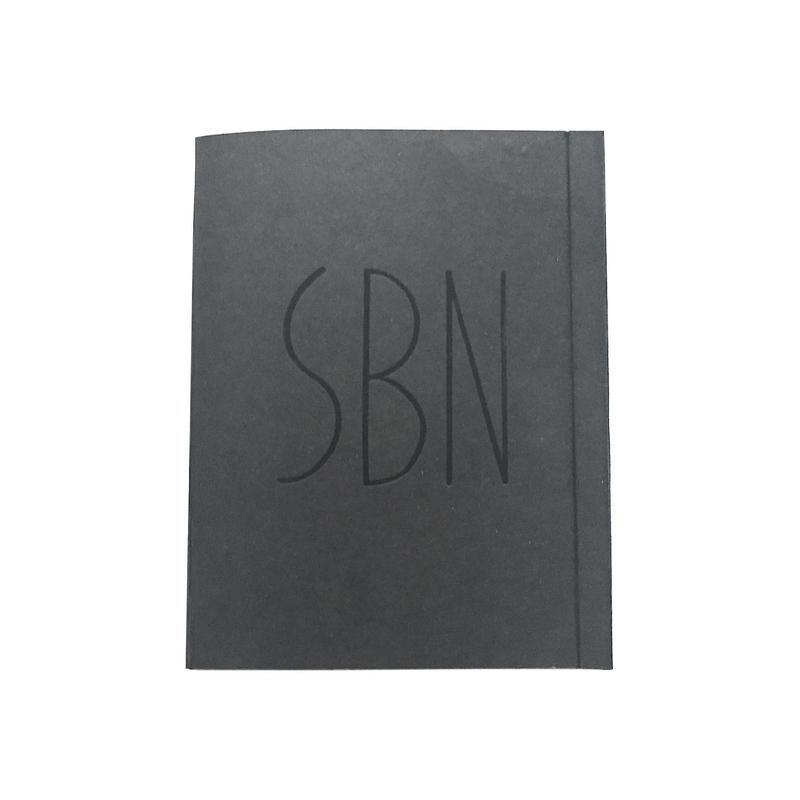 SBN(Super Binding Notebook)  [black]