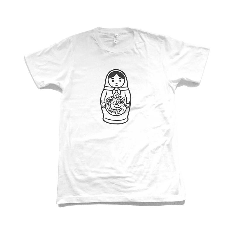 MATRYOSHKA 03 (white)