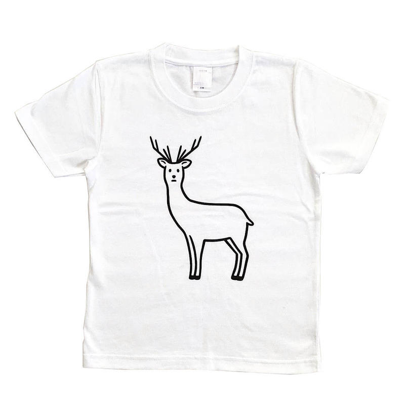 SAFE DEER (white/KIDS)