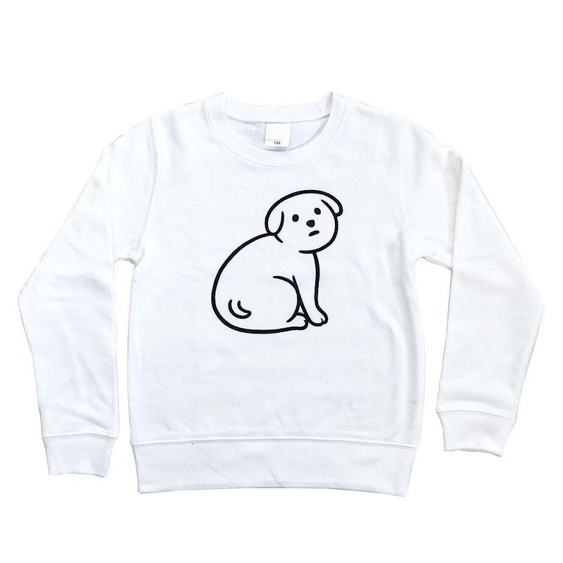 NOT SCARY DOG (sweat/white/KIDS)