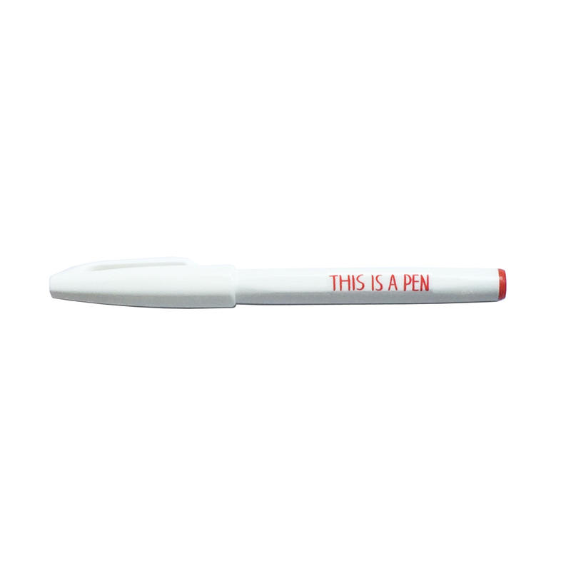 THIS IS A PEN (白/赤)