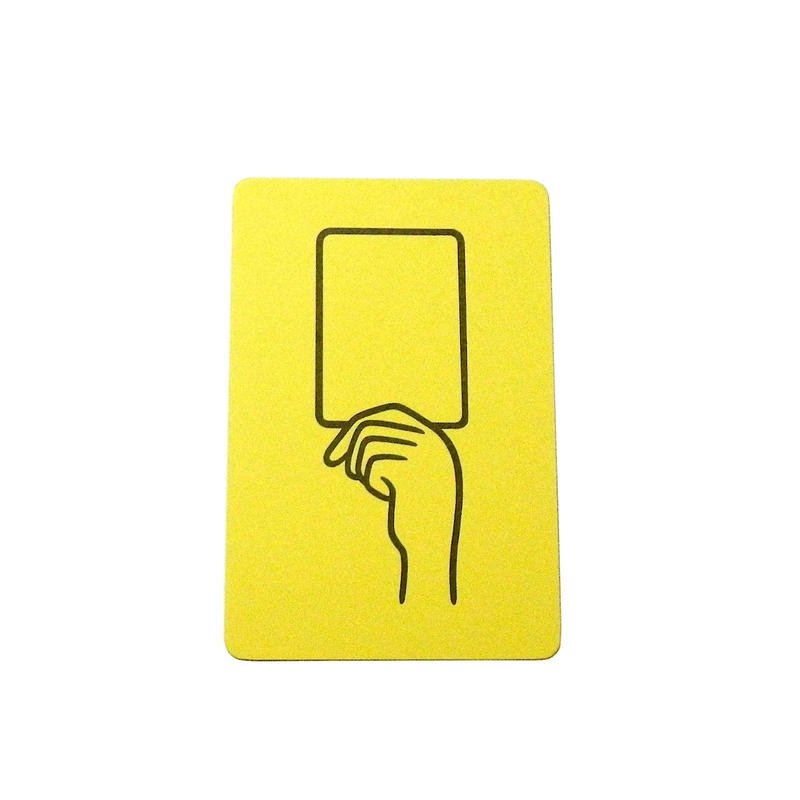 YELLOW CARD(postcard)