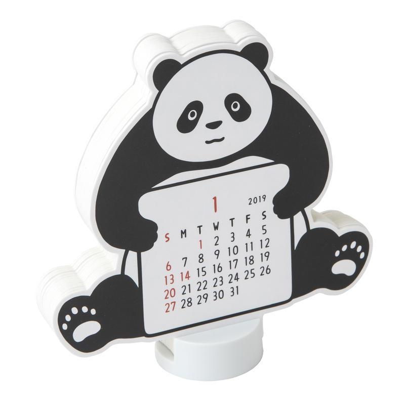 2019 DIECUT CALENDAR (panda)