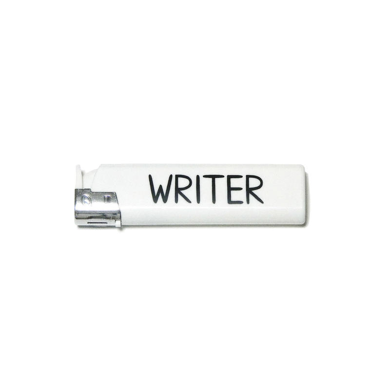 WRITER LIGHTER(white)
