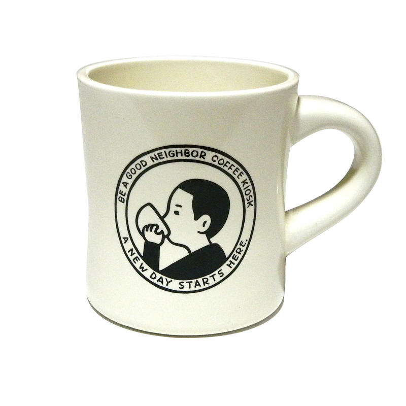 BE A GOOD NEIGHBOR Diner Mug
