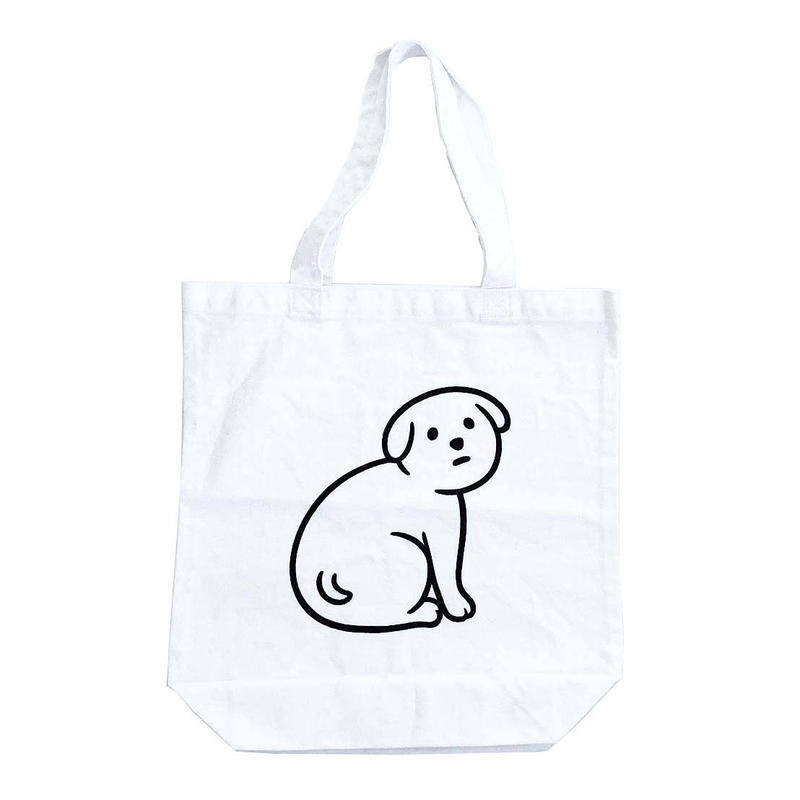 NOT SCARY DOG (totebag)