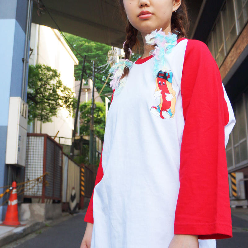 KIDPUP G-DOG RAGLAN SLEEVE T-Shirts〈NZ000-2〉