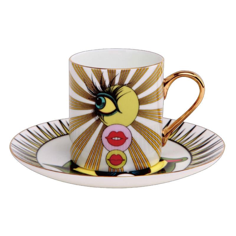 Keiichi Tanaami x BRANDOR Coffee Cup - MINICUP
