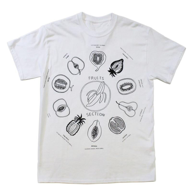 """Fruits"" S/S tee - by SHUNTAROU TAKEUCHI × RYUHEI KOBOSHI"