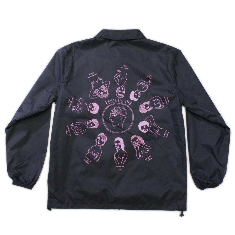 """Pie"" Coach jacket #Black - by SHUNTAROU TAKEUCHI × RYUHEI KOBOSHI"