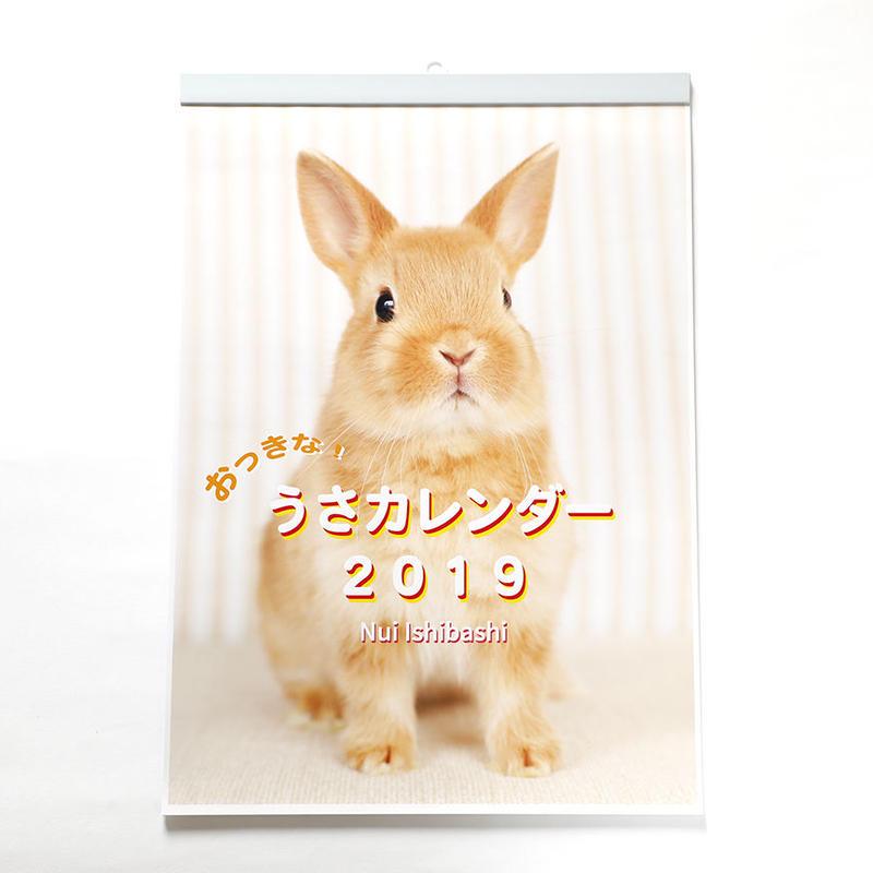 おっきな!うさカレンダー2019