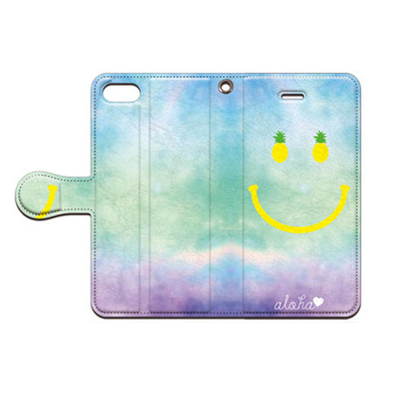 No.INFINITE aloha smile by maw 手帳型スマホケース 対応機種(iPhone/アンドロイド機種)