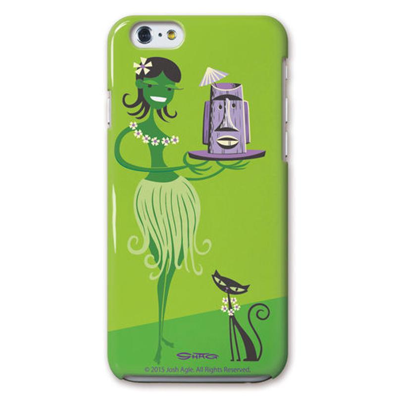 SHAG(シャグ) iPhone6/6s Green Wahine 3D ハード スマホケース