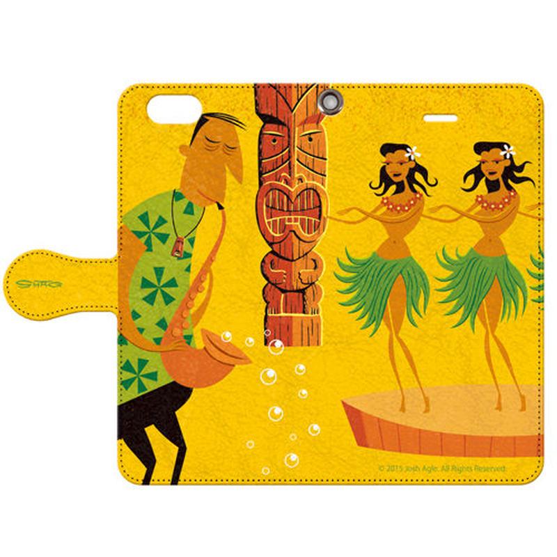 SHAG(シャグ) iPhone6/6s  Three Wahines 手帳型スマホケース