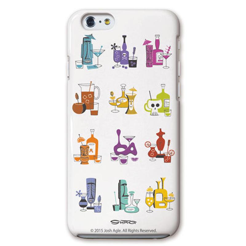 SHAG(シャグ) iPhone6/6s 12 Cacktails 3D ハード スマホケース