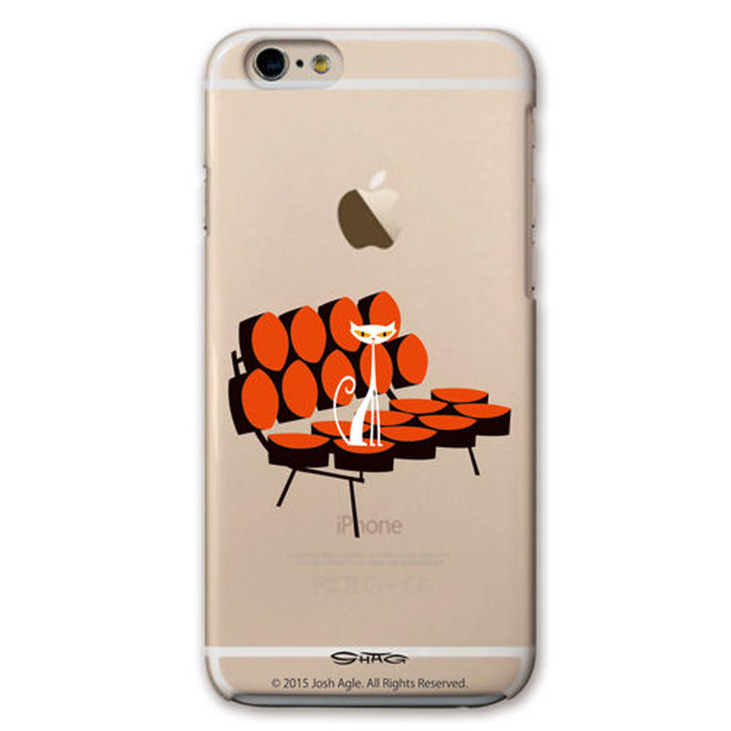 SHAG(シャグ) iPhone6/6s Marshmallow Sofa クリア ハード スマホケース