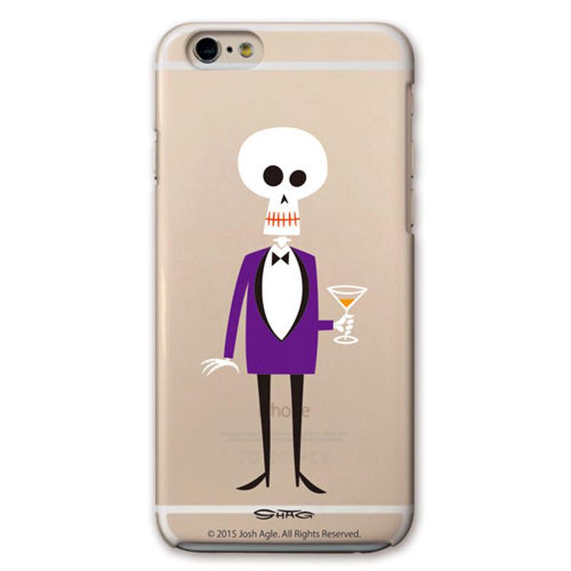 SHAG(シャグ) iPhone6/6s Dead Bon Vivant クリア ハード スマホケース