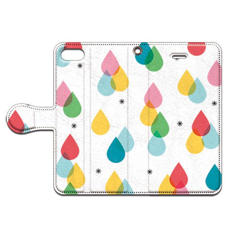 No.INFINITE color drops by maw 手帳型スマホケース 対応機種(iPhone/アンドロイド機種)