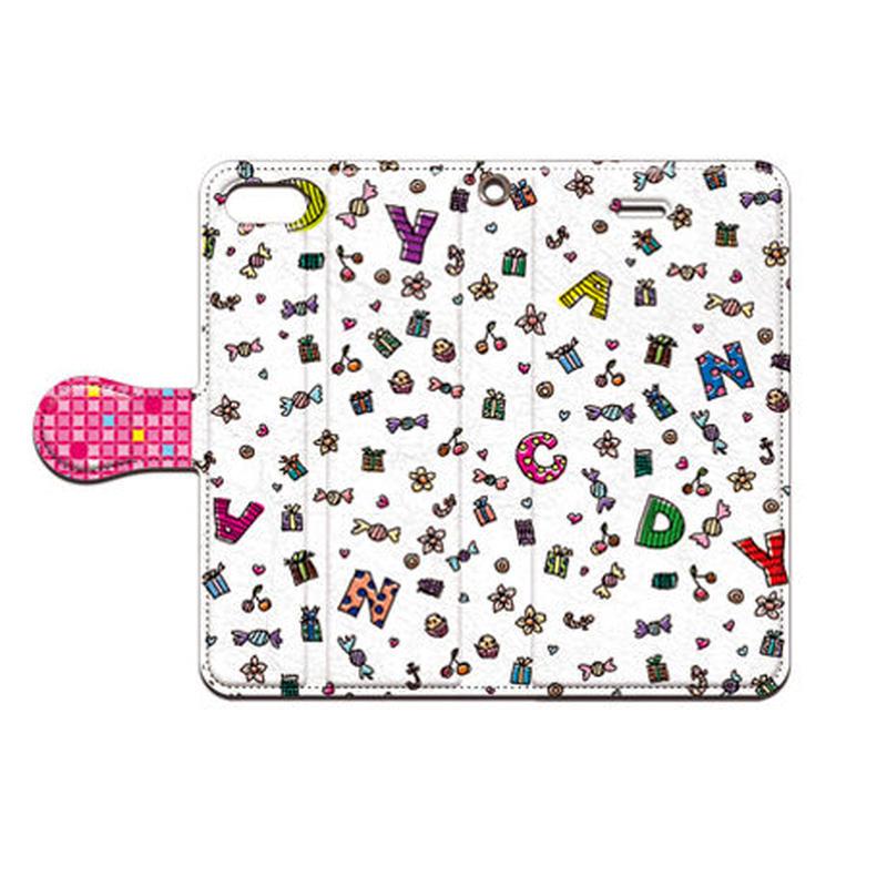 cana.(キャナ) candy 手帳型スマホケース 対応機種(iPhone/アンドロイド機種)