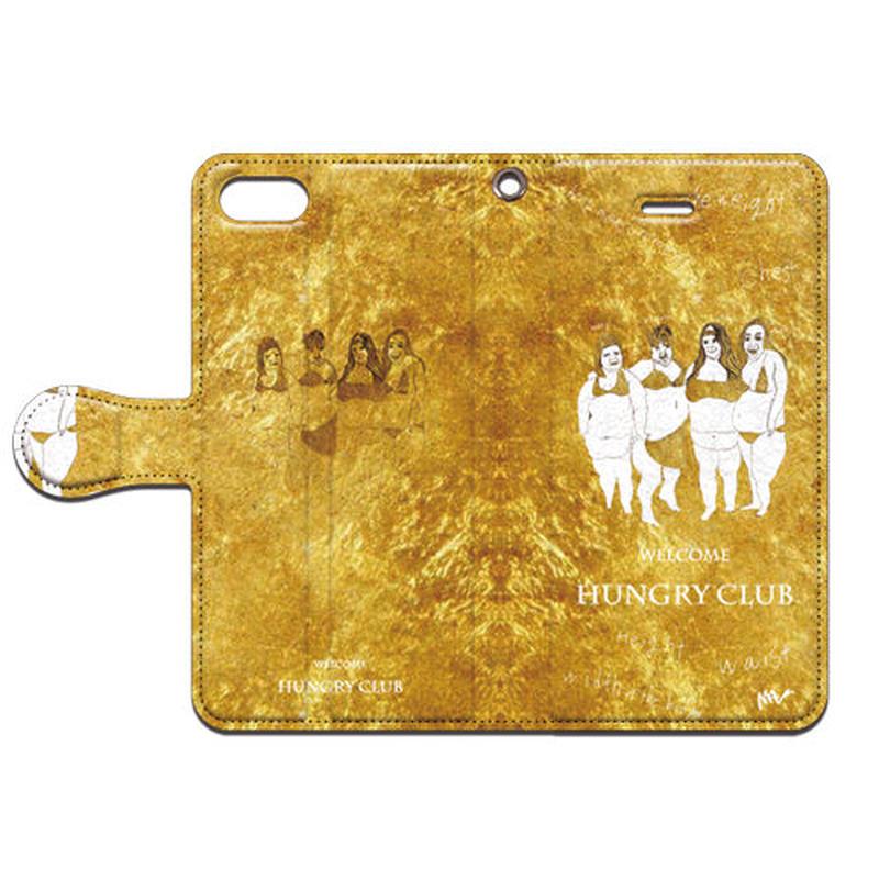 MAi(マイ) ようこそ HUNGRY club 手帳型スマホケース 対応機種(iPhone/アンドロイド機種)