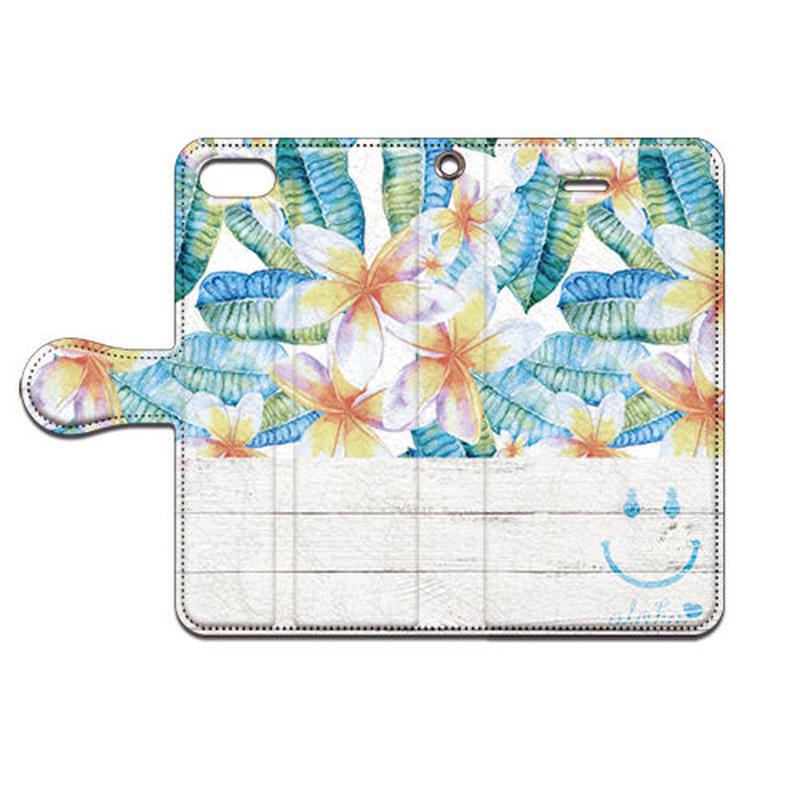No.INFINITE Flower Smile #2  by maw 手帳型スマホケース 対応機種(iPhone/アンドロイド機種)