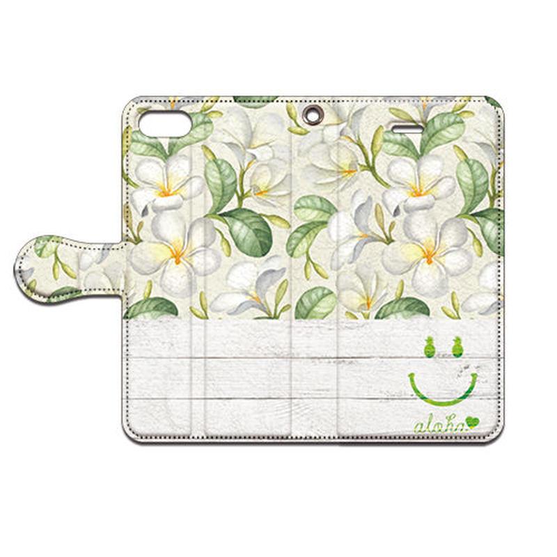 No.INFINITE Flower Smile #1  by maw 手帳型スマホケース 対応機種(iPhone/アンドロイド機種)