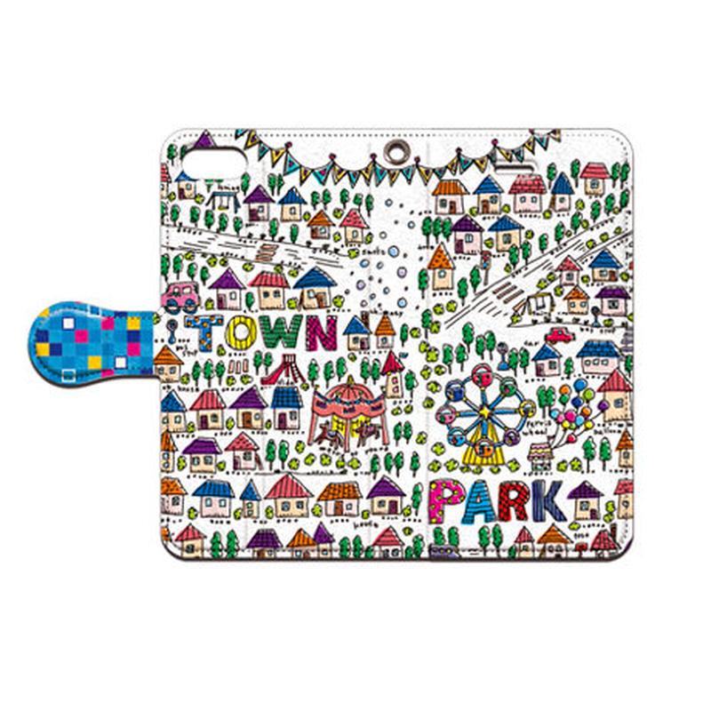 cana.(キャナ) park 手帳型スマホケース 対応機種(iPhone/アンドロイド機種)