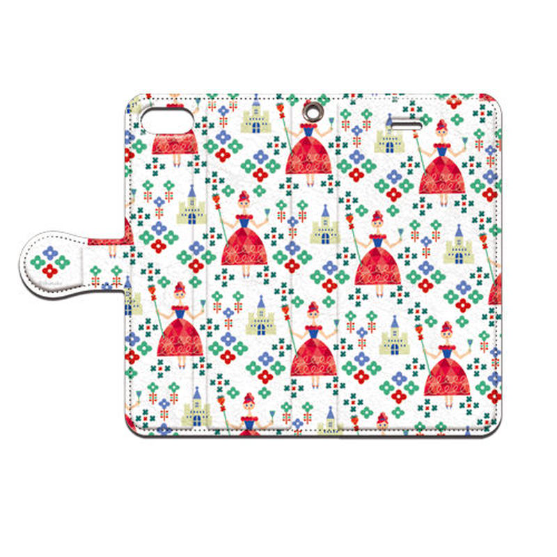 Shimako(しまこ) 苺の女王 手帳型スマホケース 対応機種(iPhone/アンドロイド機種)