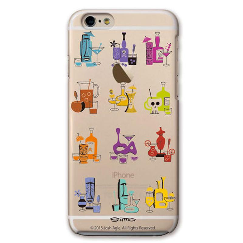 SHAG(シャグ) iPhone6/6s 12 Cocktails クリア ハード スマホケース