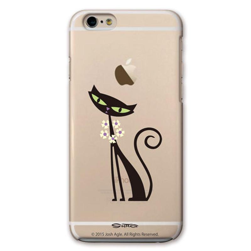 SHAG(シャグ) iPhone6/6s Black Cat クリア ハード スマホケース