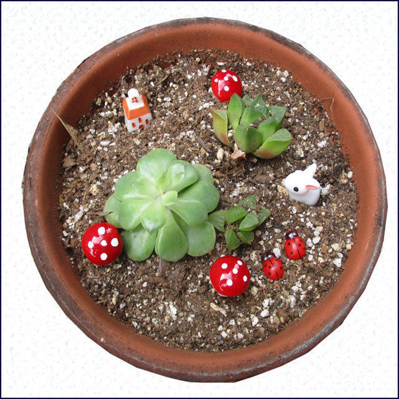 ガーデンデコ 植木鉢アクセサリ① U0066
