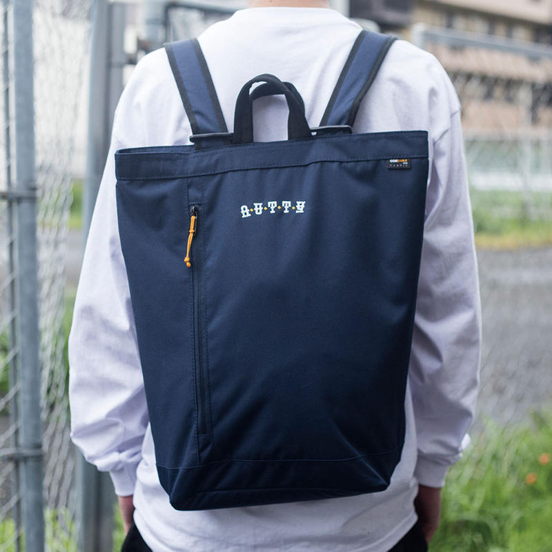 nuttyclothing / CORDURA FABRIC 2WAY BACKPACK NAVY
