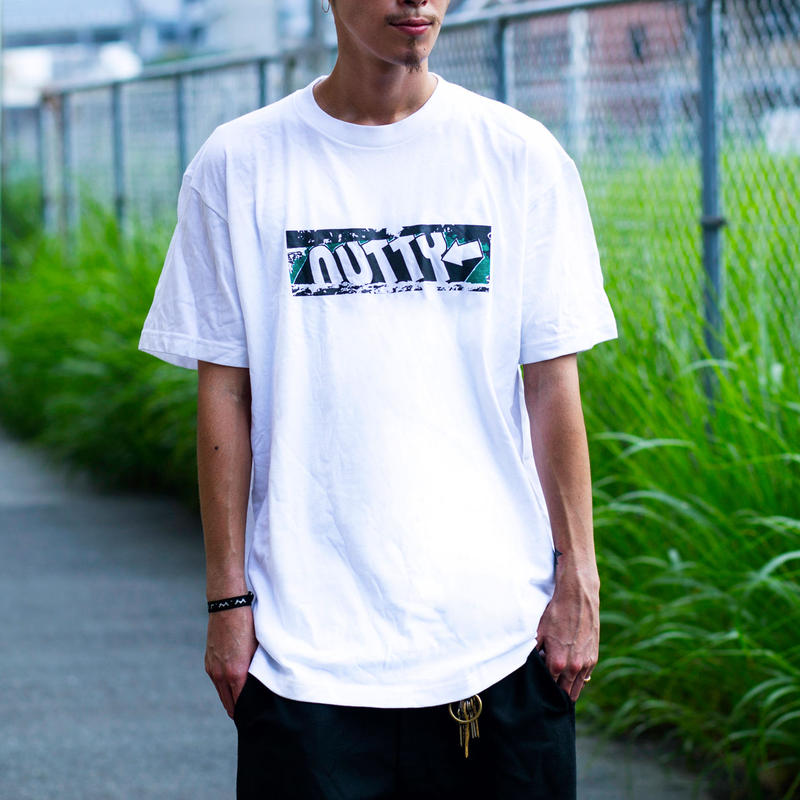 nutty clothing / BLOCK BUSTER PHOTO T-SHIRT