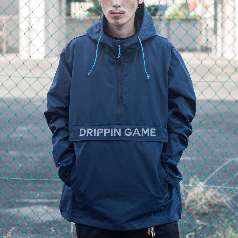nuttyclothing / DRIPPIN GAME  ANORAK JACKET