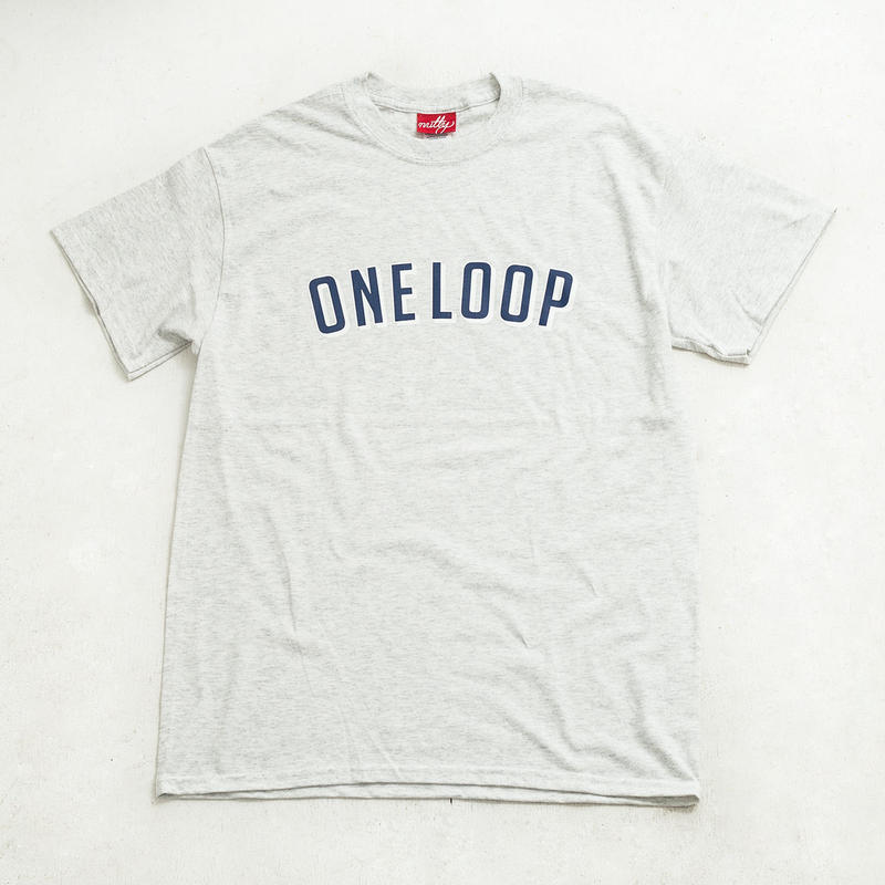nuttyclothing /  ONELOOP T-SHIRT