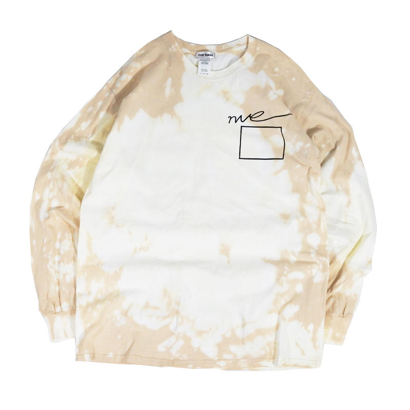 nve tie dye Long sleeve T-shirts (2colors)