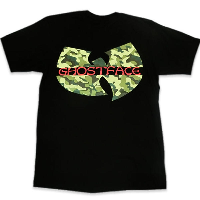 WhiteGold Tarantulaホワイトゴールドタランチュラ WU-TANGゴーストフェイスオフィシャルTeeブラックカモ EXTRA BUTTER取り扱いのNYブランド