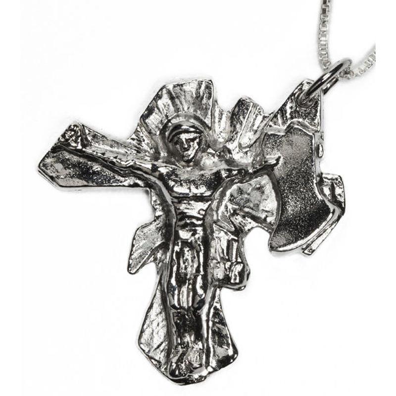 Spencer FujimotoのジュエリーブランドEL SENOR(エルセニョール)クリスチャンHOSOIモチーフ'Christ Air Rising Sun'【スケートボードアクセサリー】