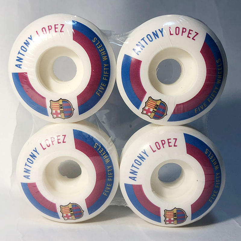 5-50WHEELS(FIVE FIFTY WHEELS)ANTONY LOPEZ FCB 50MM 硬度100A ウィール 550Wheels