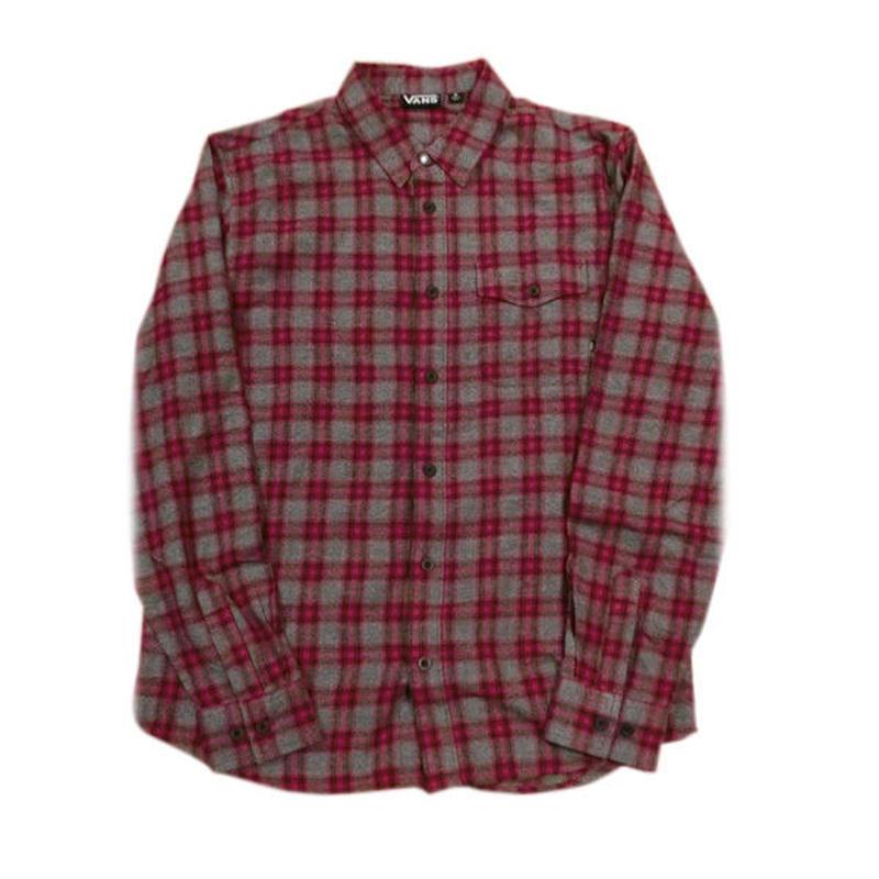 VANS【USAモデル】Cotton flannel SHIRTS USA企画日本未展開ヴァンズネルシャツ