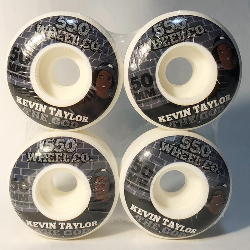 5-50WHEELS(FIVE FIFTY WHEELS)KEVIN TAYLOR KT SNACKS 50MM 硬度100Aウィール 550Wheels